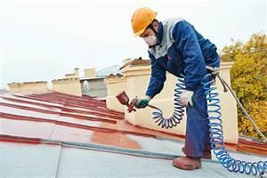 Peinture Pour Toiture : prix pour peindre une toiture ~ Melissatoandfro.com Idées de Décoration