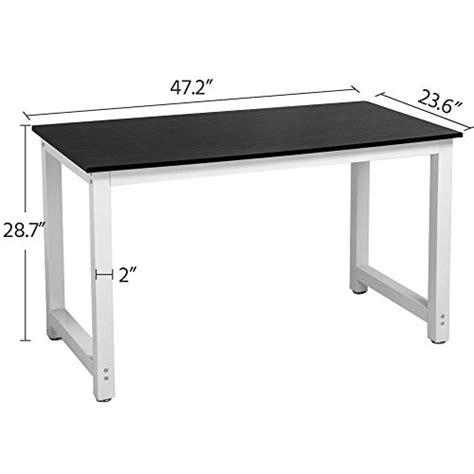 yaheetech simple computer desk pc laptop writing study