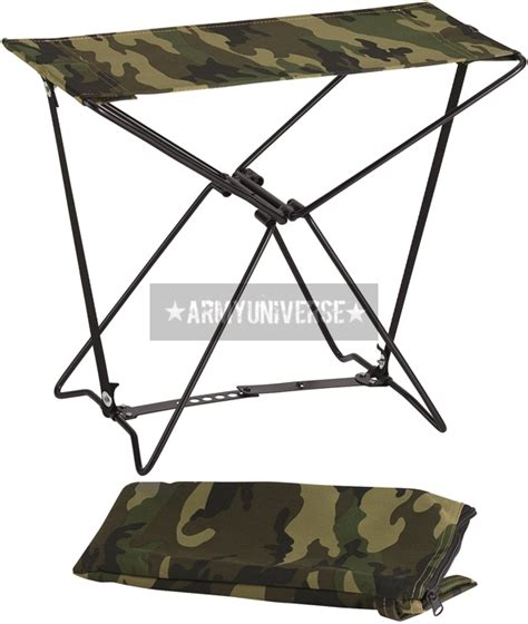 camouflage lightweight portable chair folding c stool