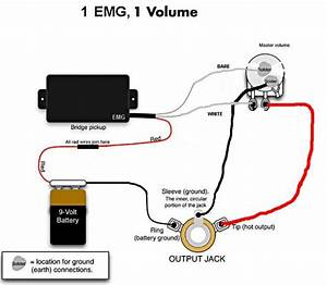 Emg Pickup Wiring