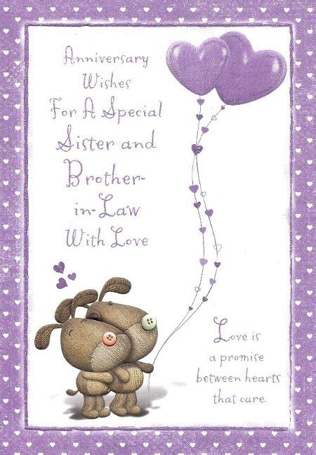 anniversarywishestosister anniversary wishes  sister  brother  law sms diy