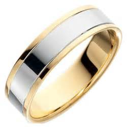 yellow and white gold wedding bands wedding rings from yellow and white gold ipunya