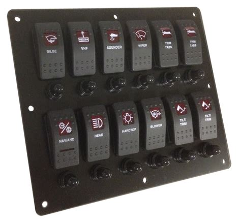 Boat Control Panel by Boat Switch Panel Bing Images