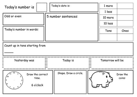 primary school homework sheets worksheets for kids free printables 2019 01 27