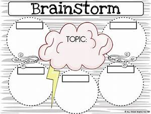 one extra degree brainstorming graphic organizer writing With brainstorming chart template