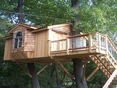 Awesome Treehouse Plans And Designs Treehouse