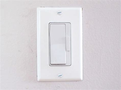 dimmer light switch how to install a dimmer switch how tos diy