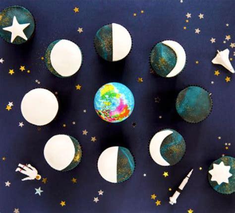 moon cycle cupcakes recipe bbc good food