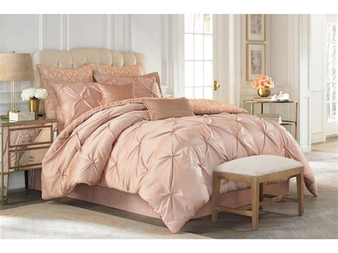 vince camuto rose gold comforter set king shipped