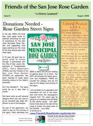 garden newsletter newsletters
