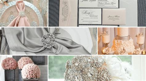 Blush Pink and Grey Color Inspiration Totally Dazzled