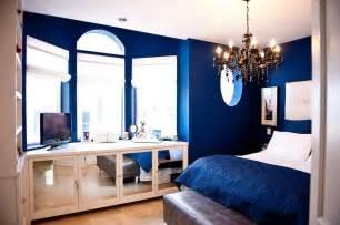 royal blue bedroom bedroom modern with drawer desks