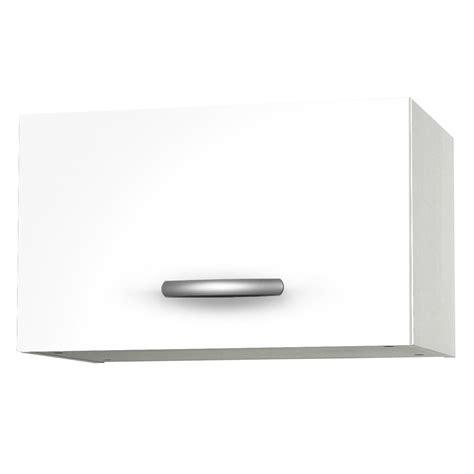 meuble haut cuisine blanc meuble de cuisine haut 1 porte blanc h35 x l60 x p35 cm