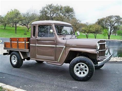 vintage willys jeep old willys trucks 1962 willys jeep pickup truck flatbed