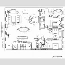 Floor Plan, Loft In Noho, New York City  Compact Home