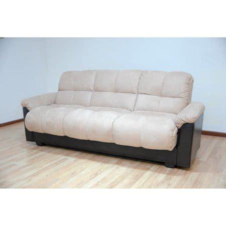 futon beds walmart primo ara convertible futon sofa bed with storage