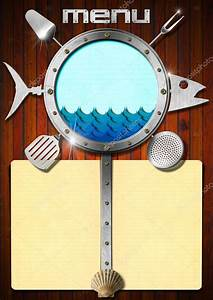 Memo Templet Seafood Menu Template Stock Photo Catalby 51604799