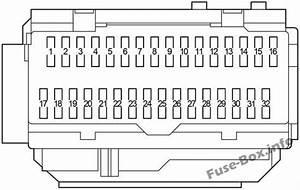 Fuse Box Diagram Toyota Camry  Xv40  2007