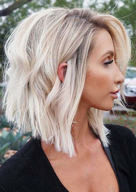 Popular Short Blonde Hairstyles Crazyforus
