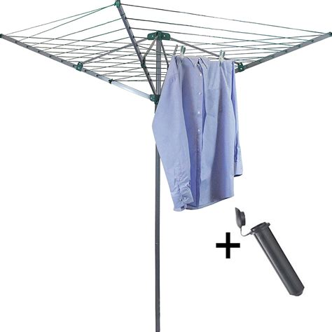 arm rotary garden washing  clothes airer dryer
