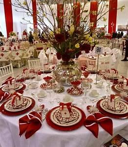 Tischdeko Rot Weiß : 42 faszinierende tischdekoration ideen in rot ~ Indierocktalk.com Haus und Dekorationen