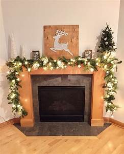 Silver, And, White, Christmas, Decor, For, The, Mantle