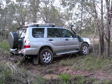 subaru forester offroad tuning road subaru forester crossing creek bed
