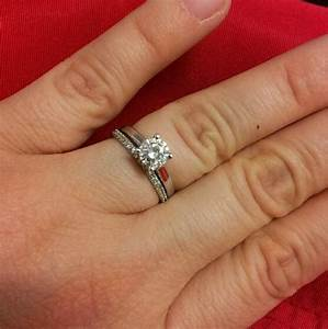 what order do you wear your wedding and engagement rings With wedding and engagement ring order