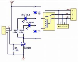 Pololu Basic Spdt Relay Carrier With 5vdc Relay  Partial