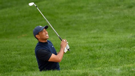 Tiger Woods doesn't go over a tree – he goes 'through it ...