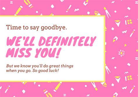 customize  good luck card templates  canva