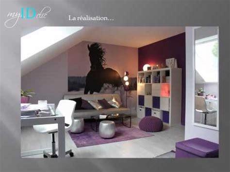 deco chambre violette déco chambre d 39 ado fille violette chambre de fille