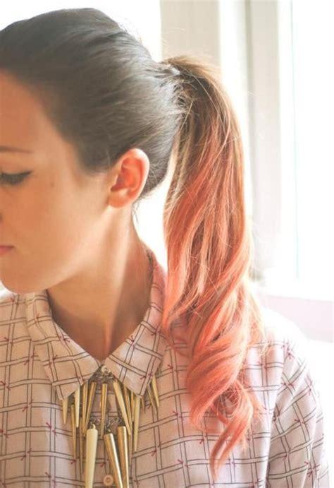 Pink Pony Haar Make Up Balayage Und Make Up
