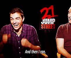 21 JUMP STREET's Dave Franco & Rob Riggle: High School ...