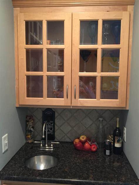 swiss coffee cabinets sand dune pinstripe glaze