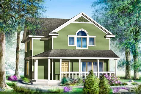 bed cottage  narrow lot dd architectural designs house plans