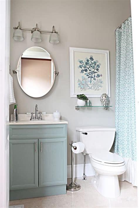dark grey cabinets for guest bath light grey walls