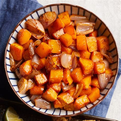 Maplechili Roasted Butternut Squash Recipe Eatingwell