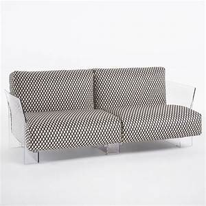 pop by sottsass canape design kartell 2 ou 3 places With tapis design avec kartell canapé