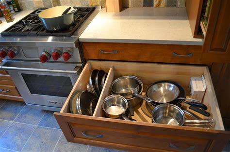 pots drawer pans storage lid