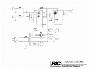 Rickenbacker M8e Service Manual Download  Schematics