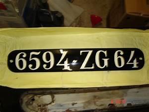 Plaque Immatriculation Voiture : plaque d 39 immatriculation ~ Melissatoandfro.com Idées de Décoration