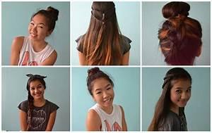 4 Back to School Heatless Hairstyles! ♡ - YouTube