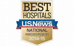 Scripps Ranked by U.S. News & World Report 2014-2015