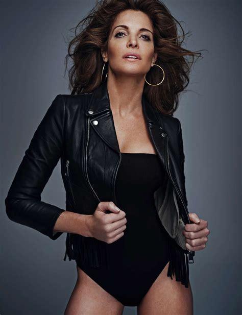 Stephanie Seymour in Elle Spain October 2016 by Gilles Bensimon
