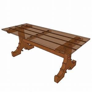 Plateau Pour Table : pied de table pour plateau 03 ~ Teatrodelosmanantiales.com Idées de Décoration
