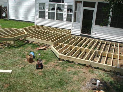 10x12 Ground Level Deck Plans • Bulbs Ideas