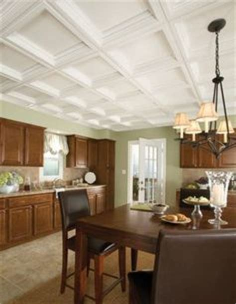Ceilume Madison Ceiling Tiles by Ceilume Madison White 2 Ft X 2 Ft Lay In Coffered