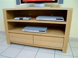Tv Möbel 120 Cm Breit : schermbeck tv anrichte lowboard in eiche massiv breite 120 cm mit 2 offenen f chern f r ~ Bigdaddyawards.com Haus und Dekorationen