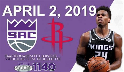 LIVE ON SPORTS 1140 KHTK: Sacramento Kings vs Houston Rockets